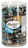 Miniatures Mix (Mars, Bounty, Twix, Snickers), ca. 296 Stück, Klarsichtdose - 3kg - 6x