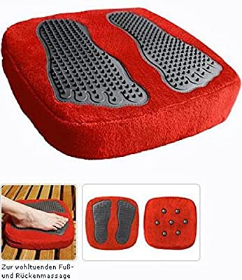 Massagekissen, Vibrationsmassage für Füße u. Rücken