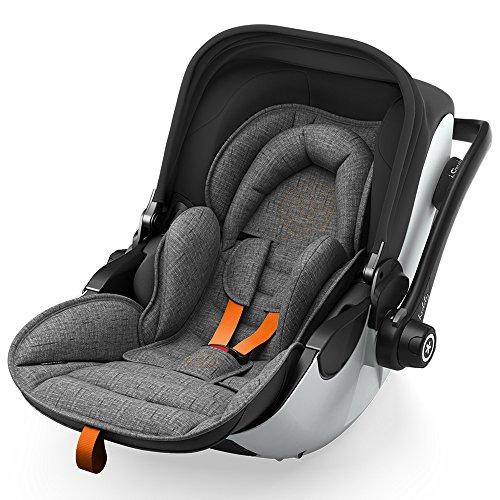 Preisvergleich Produktbild Kiddy Babyschale Evoluna i-Size 2 inkl. Isofix Base 2, 2018, Farbe:Safe Orange