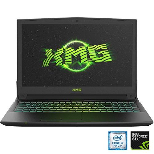 XMG A517 dxf innovative Gaming Laptop 156 whole HD IPS GTX 1060 Intel foundation i7 7700HQ 16GB RAM 250GB SSD 1000GB HDD ohne Betriebssystem schwarz Notebooks