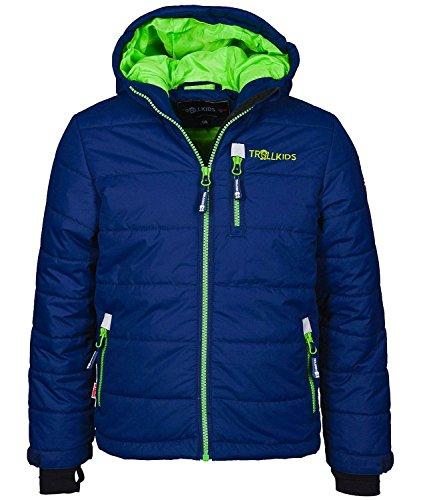 Trollkids Skijacke Hemsedal Snow Marine/grün 4 Jahre (104 cm)