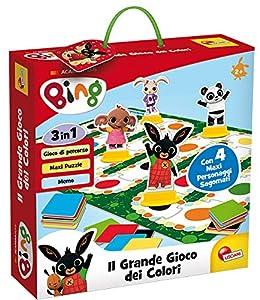 Lisciani Giochi - 76659 Juego para niños Bing El Gran Juego de los Colores