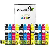 Colour Direct -3 Sets Compatible Ink Cartridges - 29XL Replacement For Epson Expression Home XP-235 XP-245 XP-247 XP-332 XP-335 XP-342 XP-345 XP-432 XP-435 XP-442 XP-445 Printers - 3 X 2991 3 X2992 3 X 2993 3 X 2994