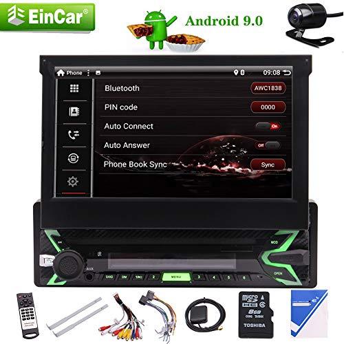 Android 9.0 Pie System GPS Navigation Stereo Receiver 1 Lärm-Auto mit Unterstützungskamera, 7