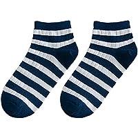 Preisvergleich für Maivasyy 5 Paar Socken Kurz Damen Baumwolle Socken Dünne Boot Frühling Sommer Kurze Socken, Wilde Kurze Socken, Dunkelblau