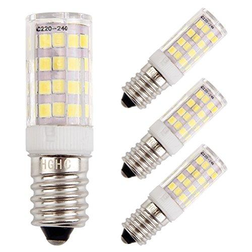 Bomnilla LED E14 5W Equivalente 35W incandescente bombillas, 6000K blanco frío 400LM...