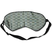 Sleep Eye Mask Japanese Wave Lightweight Soft Blindfold Adjustable Head Strap Eyeshade Travel Eyepatch E19 preisvergleich bei billige-tabletten.eu
