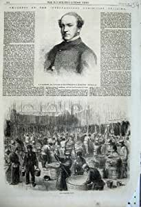 Hommes 1862 Internationaux de Magasin de Peintres de Sandford Exhibiton