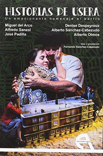 Portada del libro Historias de Usera (Teatro)