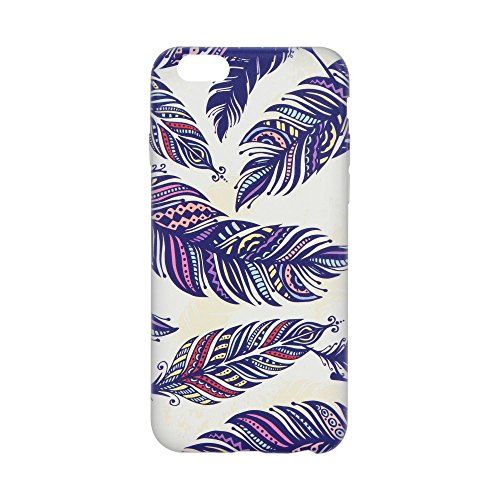 Forcell Cover Samsung Galaxy J5 2016 Blu Piume Foglie Custodia
