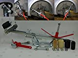 Lagerräumung: GTE KFZ Kotflügel Bördelgerät DTC-S2 inkl Ersatzteileset GRATIS