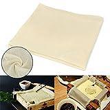 2pcs Tofu Chiffon Maker Gaze Coton Chiffon de fromage de soja de cuisine DIY appuyant sur Outil de moule de cuisson Cuisine, 43x 43cm