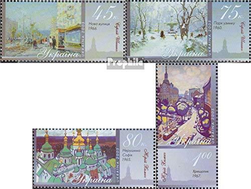 Prophila Collection Ucrania 713-716 (Completa.edición.) 2005 Pinturas Kiewer Motivos (Sellos para los coleccionistas) Pintura