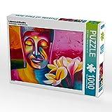 CALVENDO Puzzle Lebenskraft Buddha 1000 Teile Lege-Größe 64 x 48 cm Foto-Puzzle Bild von W.W. Voßen - Herzog von Laar am Rhein