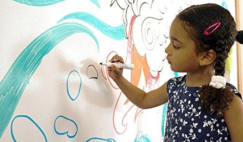 duofire-blanc43x200cm-autocollant-tableau-blanc-mural-auto-adhesif-whiteboard-sticker-pour-lecole-bu