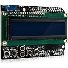 kwmobile MóduloDisplay LCD con teclas para Arduino - pantalla con 2x16 carácteres
