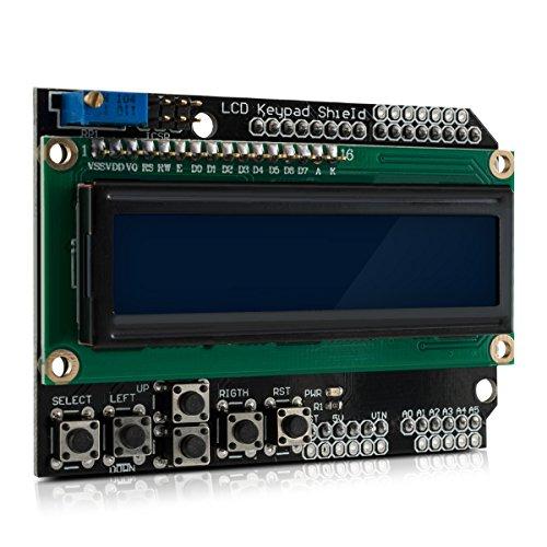 Optoelektronische Displays Elektronische Bauelemente Und Systeme 1 Stücke Lcd1602 Lcd Monitor 1602 5 V Blauen Bildschirm Und Weiß Code Für Arduino Elegante Form