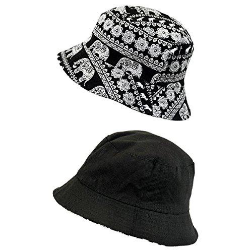 peter-rutz-accessoires-gorro-de-pescador-para-mujer-elefantes-talla-unica