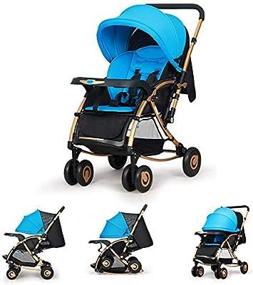 2-In-1-Kinderwagen, Zwei-Wege-Kinderwagen, Zusammenklappbarer Kinderwagen, Kompakter Leichtbau Mit Liegeposition, Schnell Zusammenklappbar, Baby-Schaukelstuhl Als Ersatz, Fünf-Punkt-Gurt