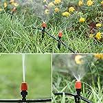 PATHONOR Neue DIY Bewässerungssystem 40m, Bewässerung Kit Micro-Drip-System Garten automatische Bewässerung automatische…