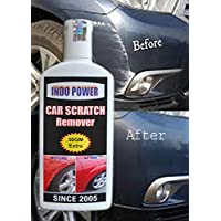 INDOPOWER HDDDd809-CAR Scratch Remover 100gm.All Colour Car & Bike Scratch Remover, Advanced Formula Rubbing Compound (Not for Dent & Deep Scratches)