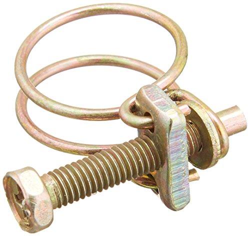 Sourcingmap Lot de 5 13-19 mm fil en acier réglable Gamme Eau Huile Tube colliers