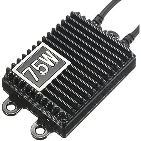 Eaglerich 75W Xenon CA 12V Kit HID H1 Xenon H7 H11 75W Xenon HID Kit H3 H4 HB3 9005 HB4 9006 6000K 8000K HID Ballast 75W faro Bulbi