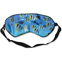 Comfortable Sleep Eyes Masks Fish Full Printed Sleeping Mask For Travelling, Night Noon Nap, Mediation Or Yoga preisvergleich bei billige-tabletten.eu