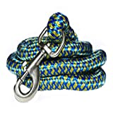 #2: Pawzone Giant and Strong Dogs Heavy Rope Leash with Hook 22mm (Color May Vary)