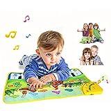 Piano Matte, CT-Tribe 60cm Klavier Matte Keyboard Matten Musikmatte Spielteppich für Baby Kinder