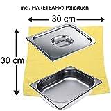 Miele Sparpack Dampfgarbehälter DGG 3 + Deckel für DGG 3 + MARETEAM® Poliertuch