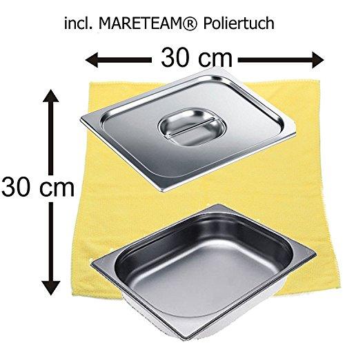 Miele Sparpack Dampfgarbehälter DGG 3 + Deckel für DGG 3 + MARETEAM Poliertuch