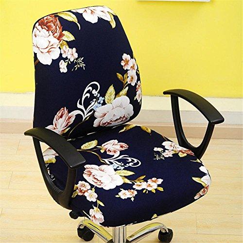 Kbsin212, copertura per sedia girevole, copertura rimovibile e allungabile per sedia da ufficio o da tavolo, fodera protettiva per sedia, B