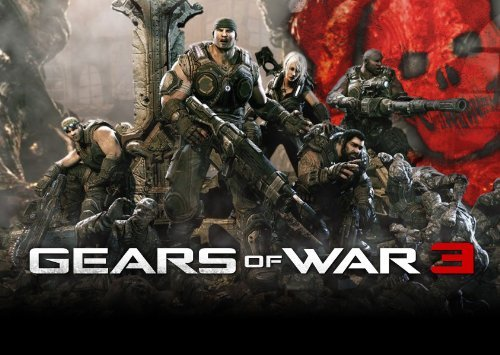 Gears Of War 3 Reproduction Gaming Poster 40 x 30 cm
