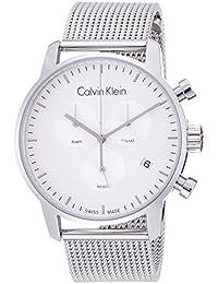 Calvin Klein Reloj Cronógrafo para Hombre de Cuarzo con Correa en Acero  Inoxidable… cf6fdb8bcc64