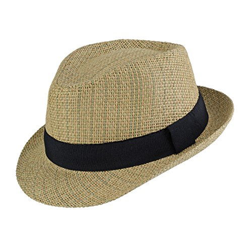 Dandytouch Trilby paille Montero