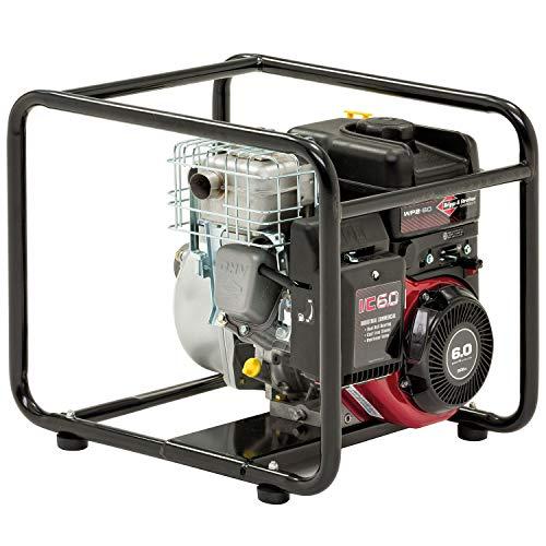 Briggs & Stratton Elite Benzin-Wasserpumpe WP2-60, mit 600 l/min, 8 m vertikaler Absaugung und INTEK I/C Motor -