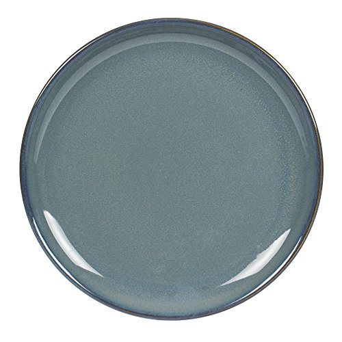 TABLE PASSION - ASSIETTE DESSERT 22 CM GRES CILAOS BLEU (LOT DE 6)