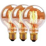 Uping 3* 60W bombilla estilo vintage globo de filamento edison antiguos Casquillo clásico E27
