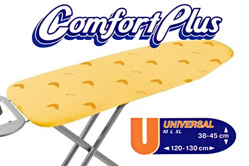 Vileda Comfort Plus Maximum Comfort Ultra Soft GELB Bügeltischbezug