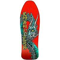 "Powell Peralta 'Bones Brigade X Caballero' Deck Red - 10.47""-Width: 10.47"""