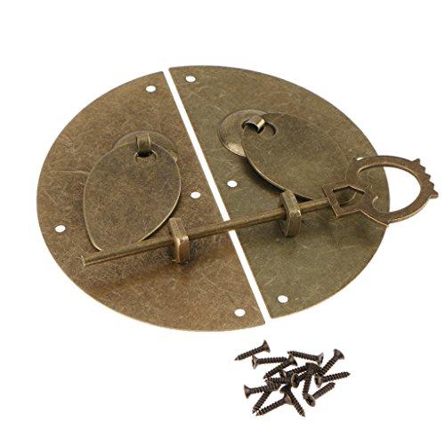 Homyl Puerta Antigua Del Metal Del Estilo Chino Que Golpea El Hardware