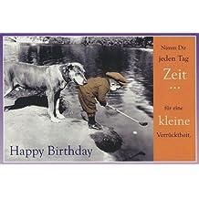 Geburtstagskarte Eine kleine Verrrücktheit