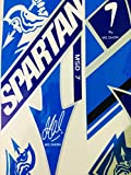 #10: Om Enterprises Spartan MSD 7 Glossy Cricket Bat Sticker