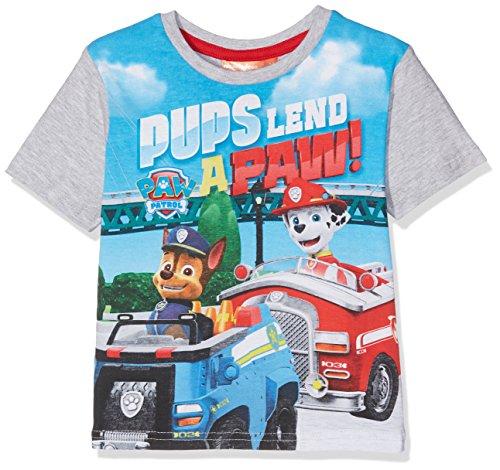 -Shirt Paw Patrol Puppies, Grau (LGREY Light Grey), 6 Jahre ()