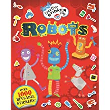 Robots (Little Hands Creative Sticker Play)