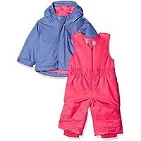 Columbia Buga Set Mono de esquí, Infantil, Morado (Eve/Punch Pink), 12/18 Meses