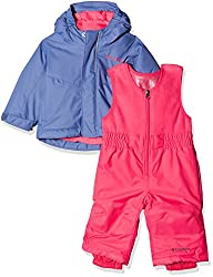 Columbia Buga Set, Sn0030, Purple (Evepunch Pink), 612 Meses