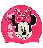 """Badekappe / Badehaube _ wasserdicht _ """" Disney Minnie Mouse """" - Silikon - 3 bis 7 Jahre - Kinder - für Mädchen - Maus Mouse Playhouse - Schwimmhaube - Duschkappe / Duschhaube - Bademütze - Schwimmkappe rosa pink"""