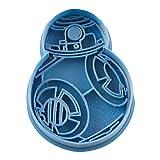 Cuticuter Star Wars BB8 Cortador de Galletas, Azul, 8x7x1.5 cm